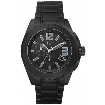 Montre GC (Guess Collection) X76011G2S - Montre Sport Noire Céramique Homme