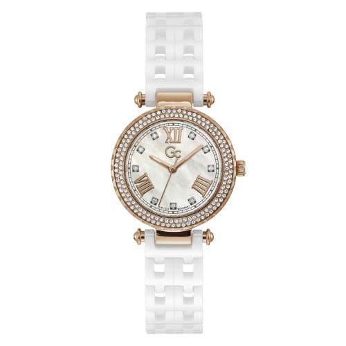 GC - Guess Collections Y66006L1MF Sport Chic femme Céramique - Montre GC Femme