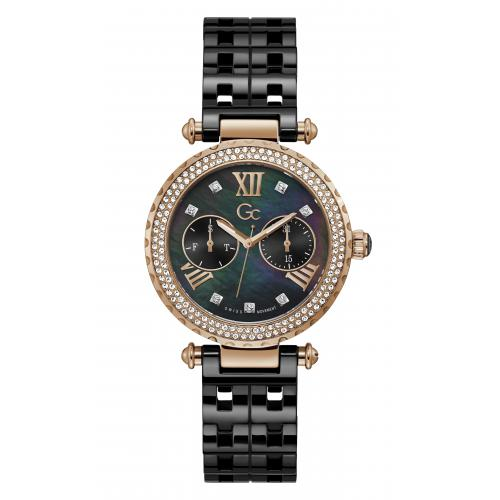 GC - Guess Collections Y71007L2MF Sport Chic femme Céramique - Montre GC Femme