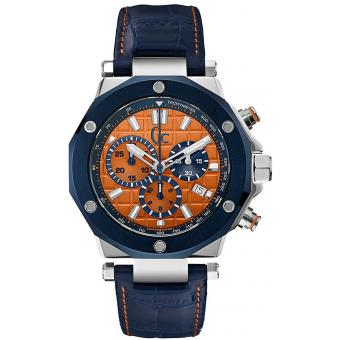 Montre GC X72031G7S - Montre Orange Ronde Homme