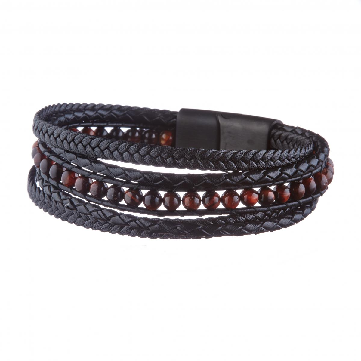 Bracelet Homme Geographical Norway  315043 - NOIR/MARRON
