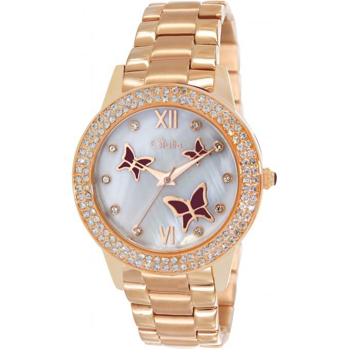 Montre Giulia BGI10004-819 - Montre Acier Or Rose Femme