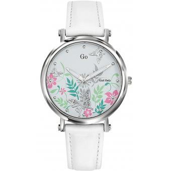 Go Girl Only - Montre Go Girl Only 699098 - Montre Go Girl Only Blanche