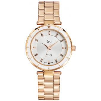 Montre Go Girl Only 694883 - Montre Or rose Ronde Femme