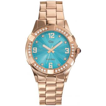 Montre Go Girl Only 694891 - Montre Ronde Or rose Femme