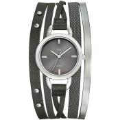 Montre Go Girl Only 698536 - Montre Cuir Grise Femme