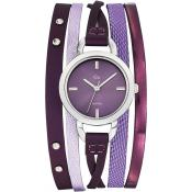 Montre Go Girl Only Cuir Violette 698544