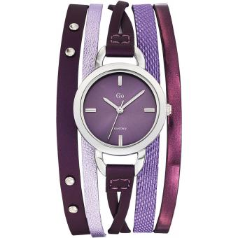 Montre Go Girl Only 698544 - Montre Cuir Violette Femme
