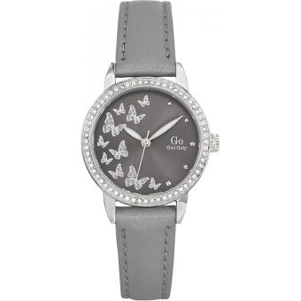 Montre Go Girl Only 698604 - Montre Cuir Grise Femme