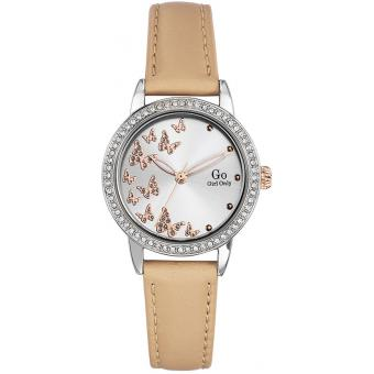 Montre Go Girl Only 698610 - Montre Cuir Beige Femme