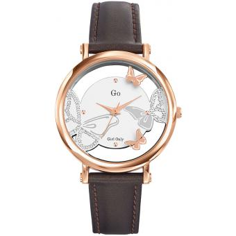 Montre Go Girl Only 698650 - Montre Cuir Marron Femme