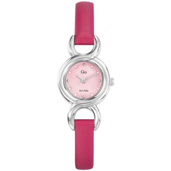 Montre Go Girl Only 698718 - Montre Cuir Fushia Femme