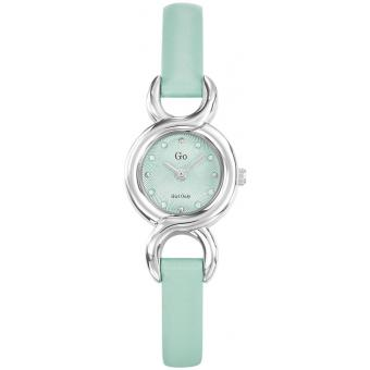Montre Go Girl Only 698723 - Montre Cuir Turquoise Femme