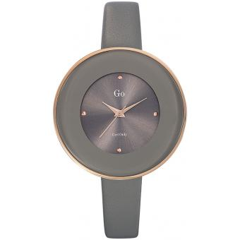 Montre Go Girl Only 698757 - Montre Ovale Anthracite Femme