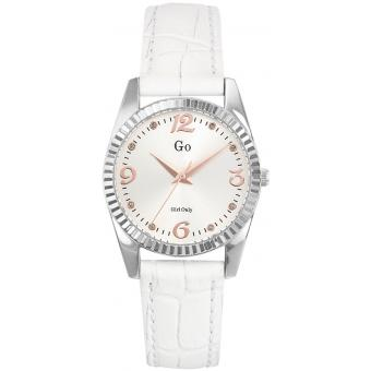 Montre Go Girl Only 698759 - Montre Blanche Cuir Femme