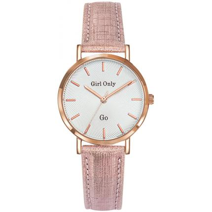 Montre Go Girl Only 699073 - Montre Cuir Rose Femme