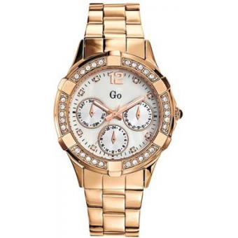 Montre Go Girl Only 694887 - Montre Ronde Chronographe Rosée Femme