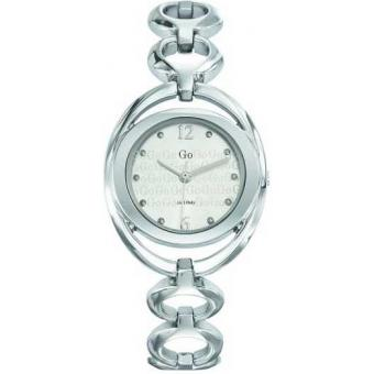 Montre Go Girl Only 694929 - Montre Ovale Argentée Femme