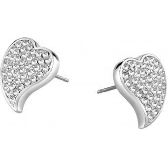 Boucles d'oreilles Coeurs Cristaux - Guess Bijoux - Guess