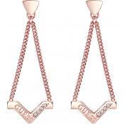 Boucles d'oreilles Guess Bijoux Balance Rose Gold UBE82075 - Boucles d'oreilles