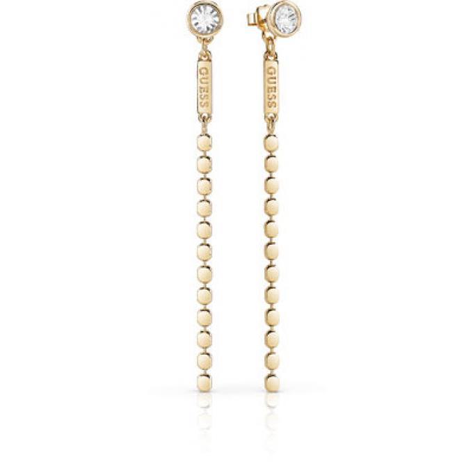 Boucles d oreilles Guess UBE84122 - Boucles d oreilles Cristaux Métal doré  Or Femme 449b4344047a