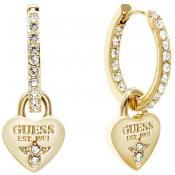 Boucles d'oreilles Guess Bijoux Créoles Dorées UBE21555 - Or