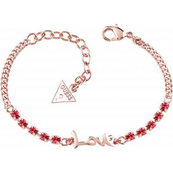 Bracelet Guess UBB61009 - Bracelet Love Or rose Femme