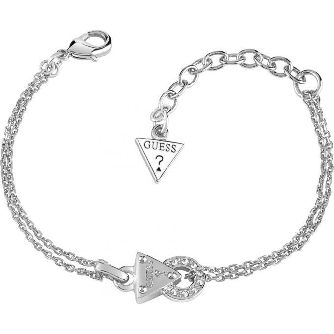 Bracelet Guess UBB71509 , Bracelet Chaîne Double Femme