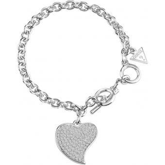 Bracelet Argenté Cristaux - Guess Bijoux - Guess