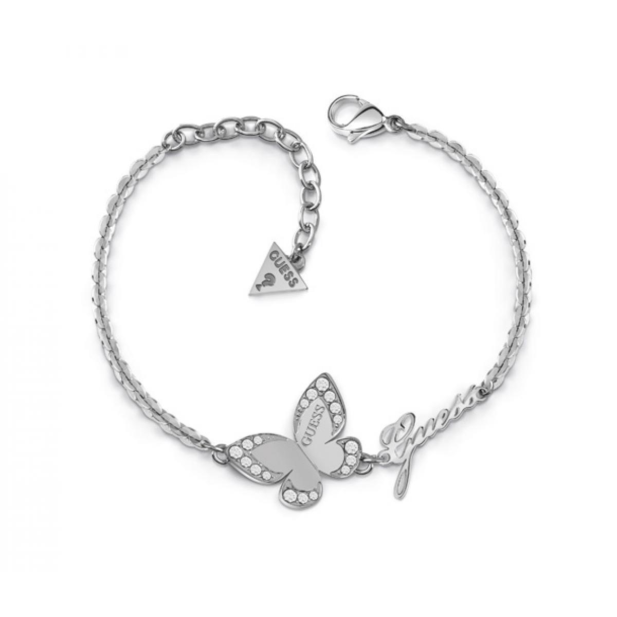bracelet femme argent guess