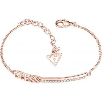 Bracelet Guess UBB82039 , Bracelet Or Rose Gourmette Femme