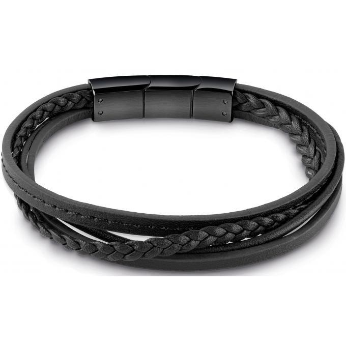 Bracelet homme cuir multi lien