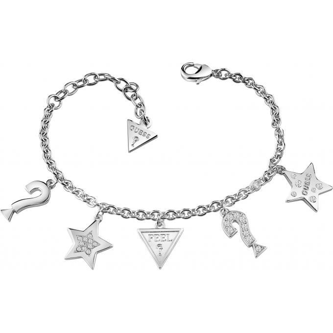 Bracelet Guess  Feelguess UBB83044-S - Bracelet Pendentif Sertis Femme 1e2b5e38b8b