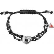 Bracelet Guess Bijoux Cordon Noir UBB12248
