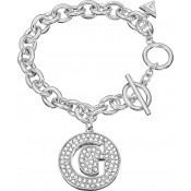 Bracelet Guess Bijoux Métal Argenté Ajouré UBB51422