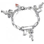 Bracelet Guess Bijoux Métal Argenté UBB70706
