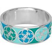 Bracelet Large Turquoise Argent - Guess