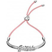 Bracelet Guess Bijoux Cordon Rose Argent UBB21225