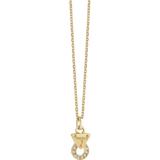 Collier et pendentif Guess UBN71513 - Collier et pendentif Chaîne Doré Femme 756008b0232