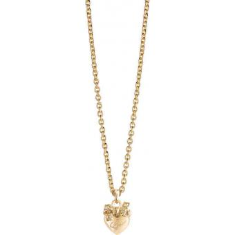 Collier et pendentif Coeur Doré - Guess Bijoux - Guess
