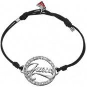 Bracelet Cordon Noir Logo  Guess - Guess