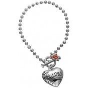 Bracelet Guess Bijoux Coeur Argent Métal UBB80924