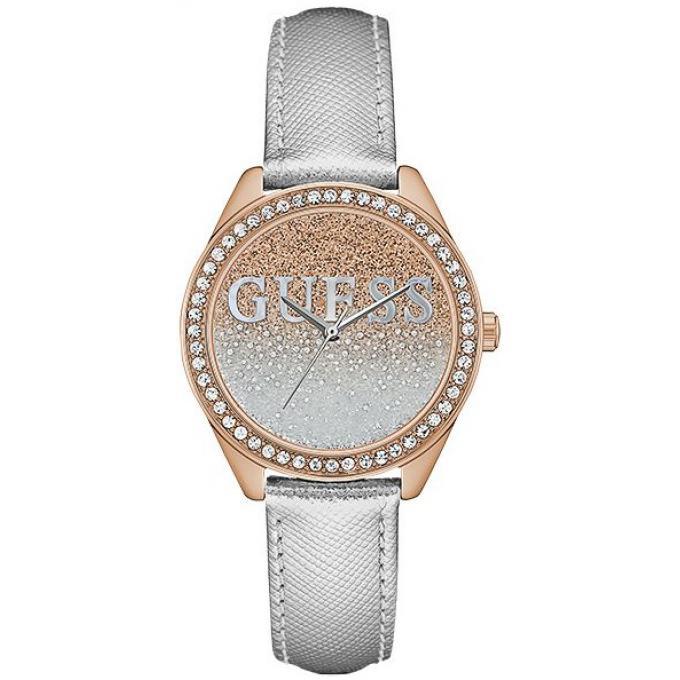 867e72082a Coffret Montre Guess UBS82108 - Montre Argentée Or Rose Femme sur ...