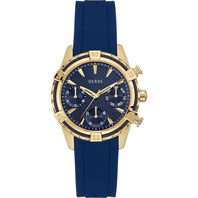 montre guess montre w0562l2 montre silicone bleue femme sur bijourama n 1 de la montre homme. Black Bedroom Furniture Sets. Home Design Ideas