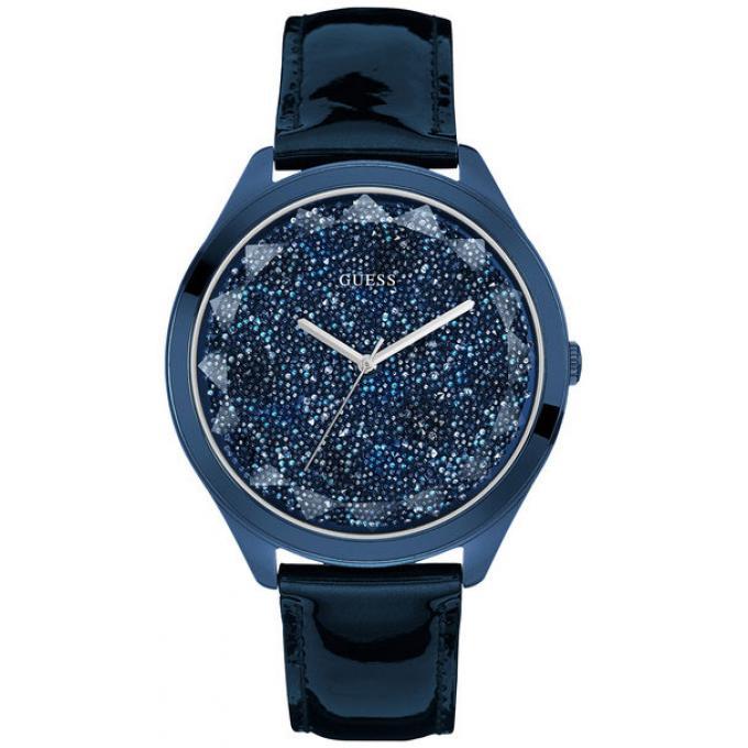montre guess w0652l2 montre bleue acier femme sur bijourama montre femme pas cher en ligne. Black Bedroom Furniture Sets. Home Design Ideas