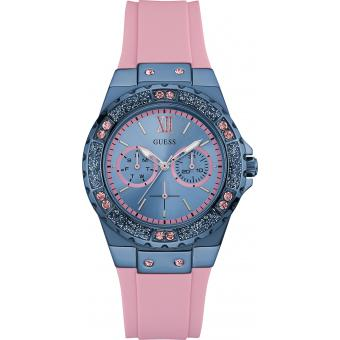 Montre Guess NYC W0775L5 - Montre Girly Bicolore Femme