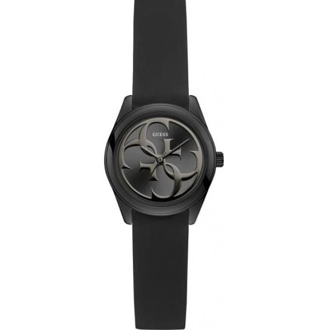 9bd3fd27d2 Montre Guess W1146L3 - MICRO G TWIST Boitier Acier Noir Bracelet Silicone  Noir Cadran Noir Femme
