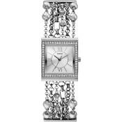 Montre Guess Bracelet Multichaîne Argenté Silk W01470L1