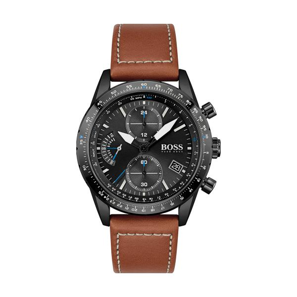 Montre Homme Hugo Boss 1513851 - Bracelet Cuir Marron