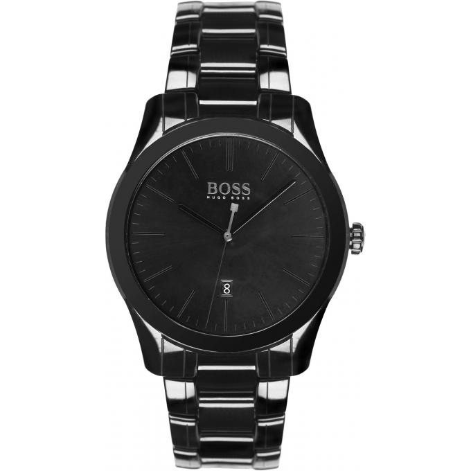 montre hugo boss montre 1513223 montre noire dateur homme sur bijourama n 1 de la montre. Black Bedroom Furniture Sets. Home Design Ideas
